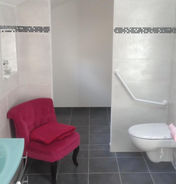 Salle de bain senior